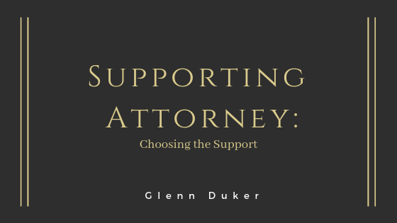 Supporting Attorney- Glenn Duker
